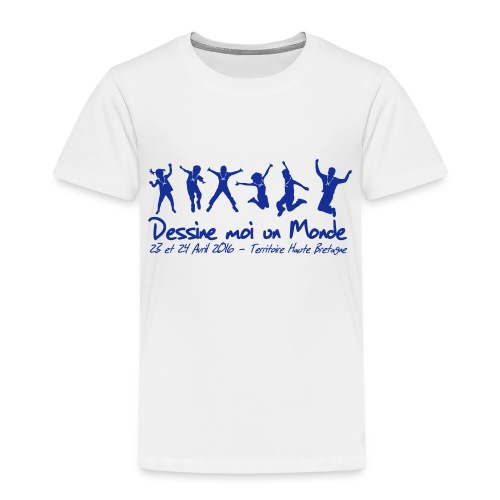 logo wet 2016 sp - T-shirt Premium Enfant