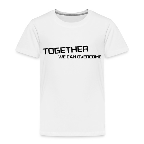 shirtsbydep Togetherwecanovercome man - Kinderen Premium T-shirt