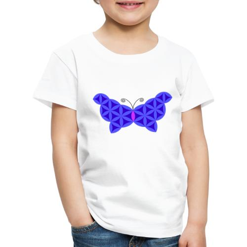The Butterfly Of Life - Sacred Animals - Kids' Premium T-Shirt