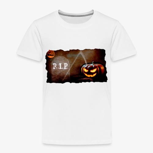 Halloween schauriger Friedhof - Kinder Premium T-Shirt