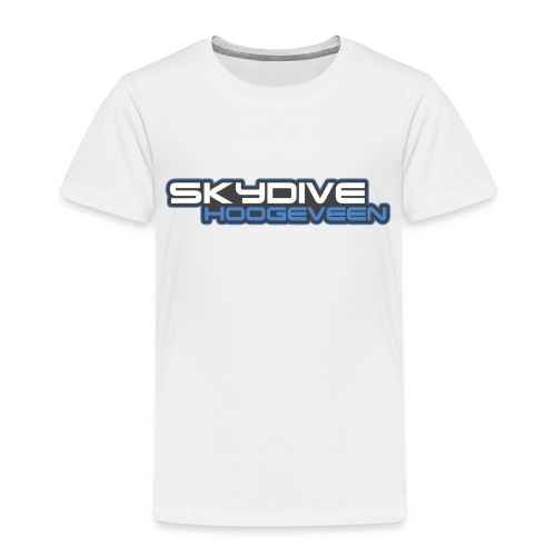 Logo Skydive Hoogeveen png - Kinderen Premium T-shirt