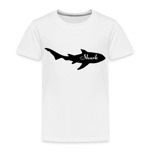 Tiburon logo - Camiseta premium niño