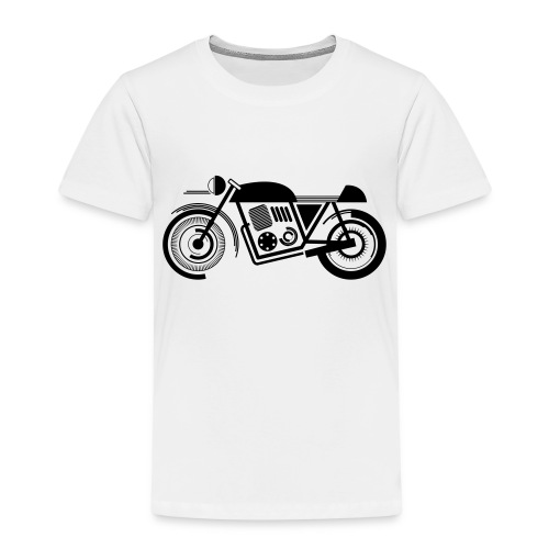 wk motor motor groot - Kinderen Premium T-shirt