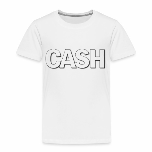 CASH png - Børne premium T-shirt