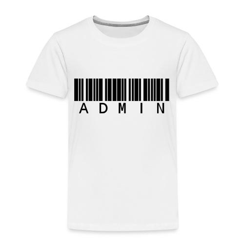 Administrator in Schwarz - Kinder Premium T-Shirt