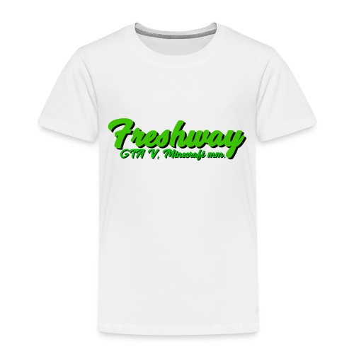 freshway w Slogan - Premium-T-shirt barn