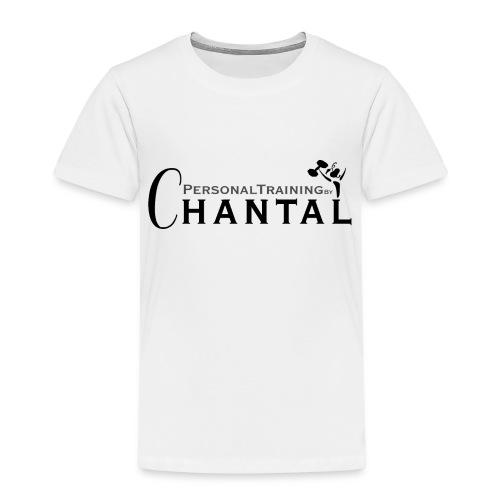 Logo Chantal xtra zwart png - Kinderen Premium T-shirt