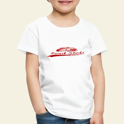 lead sled red - Børne premium T-shirt