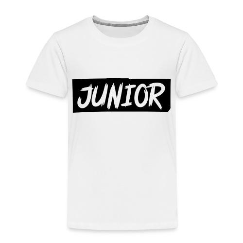 SCHWARZ-WEIß JUNIOR - Kinder Premium T-Shirt