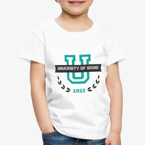 University 001 - Camiseta premium niño