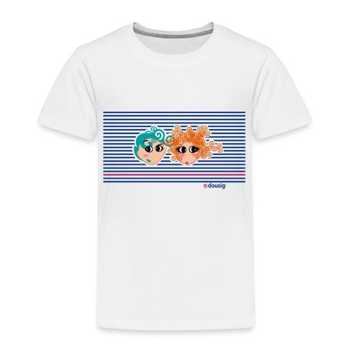 Mariniere bleue - T-shirt Premium Enfant