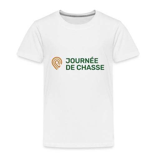 Journée de chasse - Logo couleur - T-shirt Premium Enfant