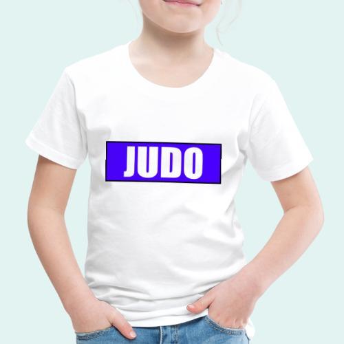 Judo Blau 2. Kyu - Kinder Premium T-Shirt