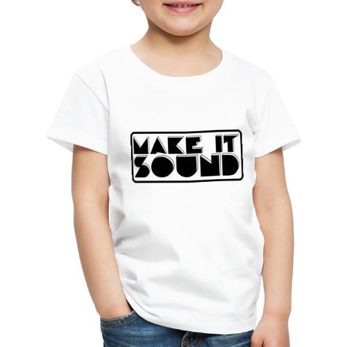 MAKE IT SOUND UMEÅ - Premium-T-shirt barn