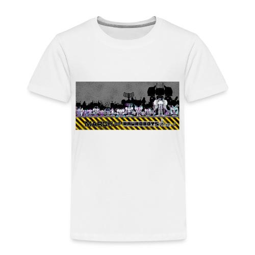 #MarchOfRobots ! LineUp Nr 2 - Børne premium T-shirt