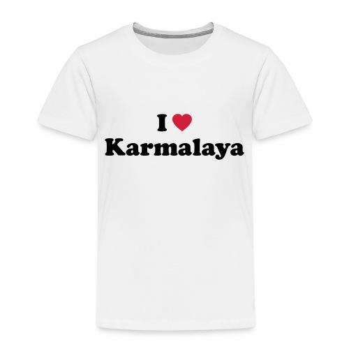 ilovekarmalaya a - Kinder Premium T-Shirt