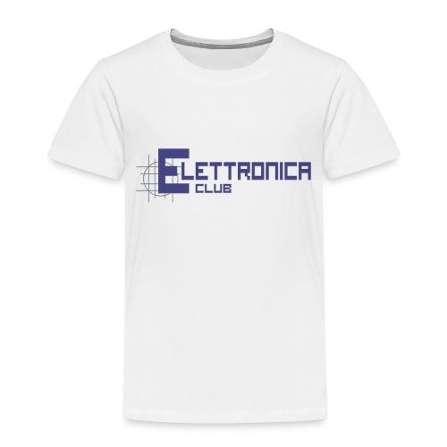 Felpa Elettronica Club - Maglietta Premium per bambini