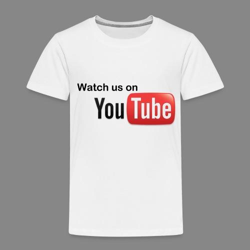 youtube hd logo by marcosrstone d37ot4e png - Kinderen Premium T-shirt