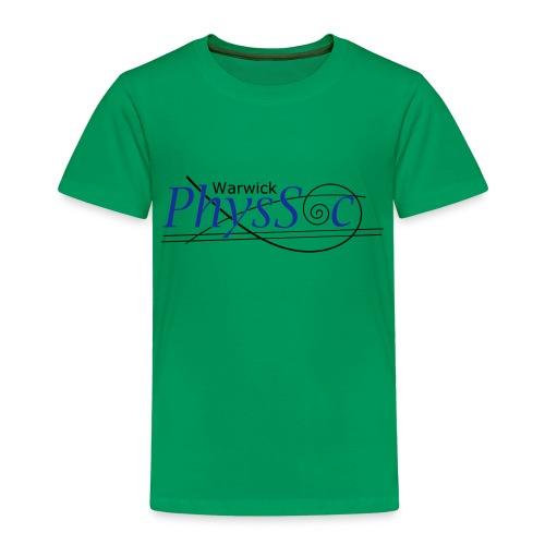 Official Warwick PhysSoc T Shirt - Kids' Premium T-Shirt