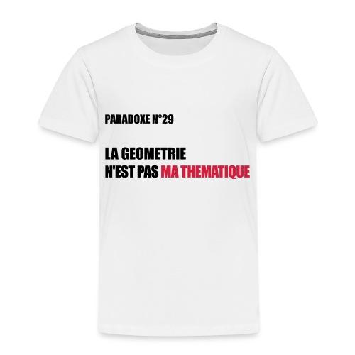 PARADOXE geometrie - T-shirt Premium Enfant