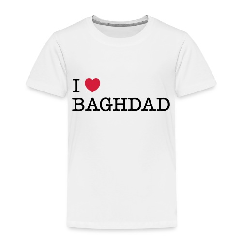 I LOVE BAGHDAD - Kids' Premium T-Shirt