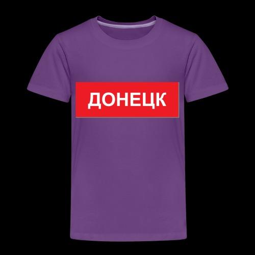 Donezk - Utoka - Kinder Premium T-Shirt