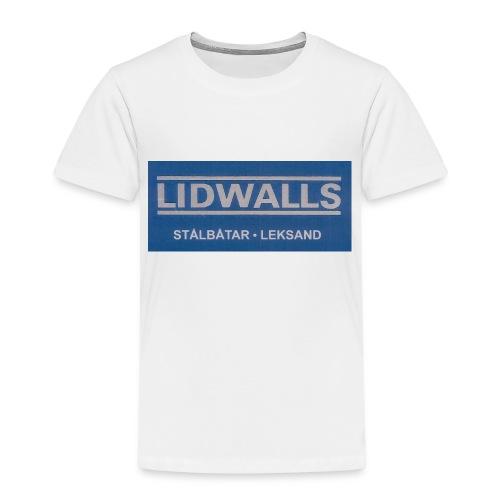 Lidwalls Stålbåtar - Premium-T-shirt barn
