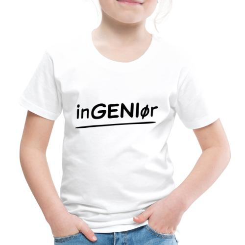 inGENIør - Premium T-skjorte for barn