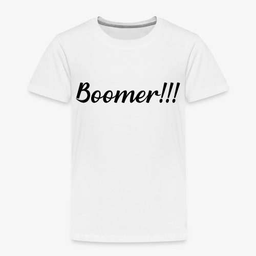 Boomer - Camiseta premium niño