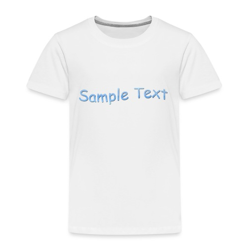 SAMPLE TEXT CAP - Kids' Premium T-Shirt