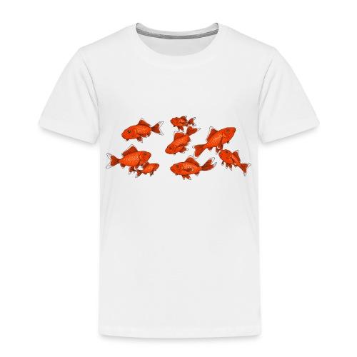 Les petits poissons rouges - T-shirt Premium Enfant