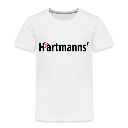 Heartmanns Schriftz. schw - Kinder Premium T-Shirt