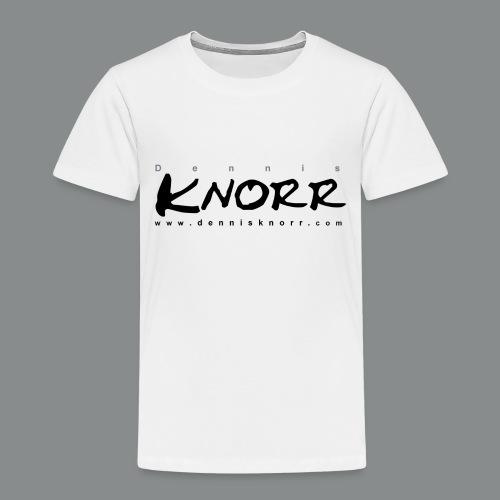 DennisKnorr_Log_sw - Kinder Premium T-Shirt