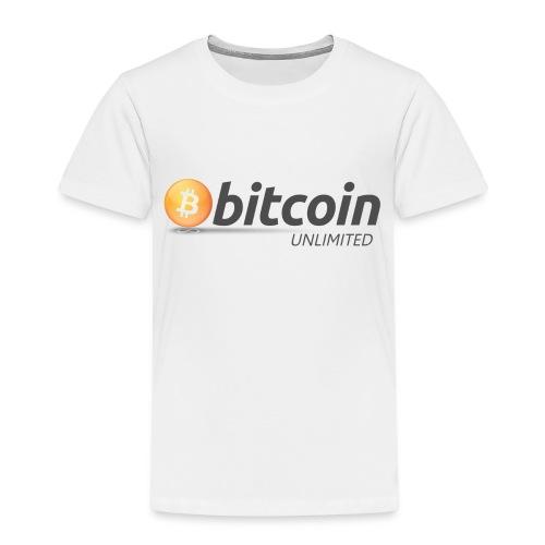 Bitcoin Unlimited - Maglietta Premium per bambini