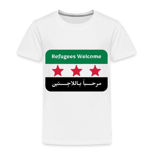 Refugees Welcome - Kids' Premium T-Shirt