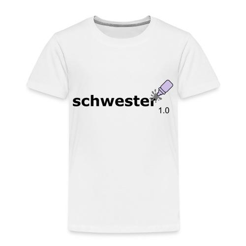 Schwester_1-0 - Kinder Premium T-Shirt