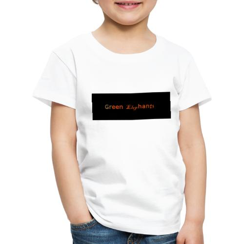 GreenElephants - Kinder Premium T-Shirt