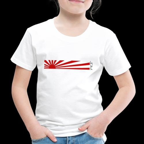 JDM flag design - Kids' Premium T-Shirt