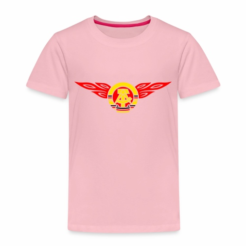 GDR flames crest 3c - Kids' Premium T-Shirt
