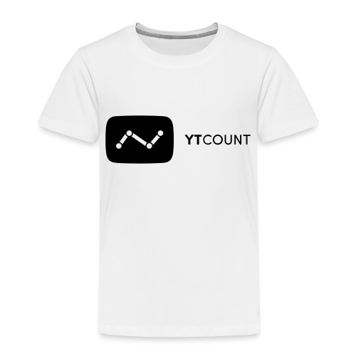 YTCount Logo White - Kinderen Premium T-shirt