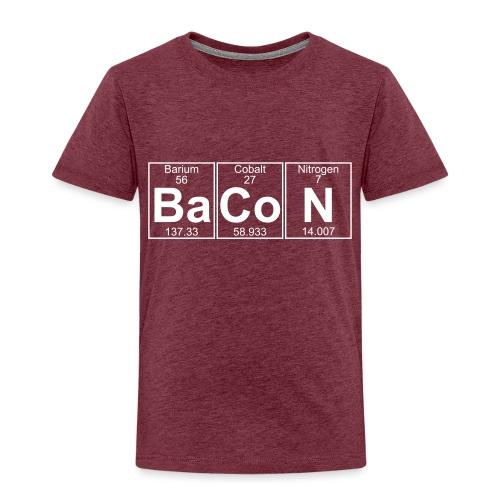 Ba-Co-N (bacon) - Full - Kids' Premium T-Shirt