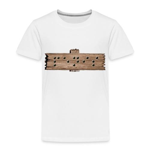 Penis - Blindenschrift - Kinder Premium T-Shirt