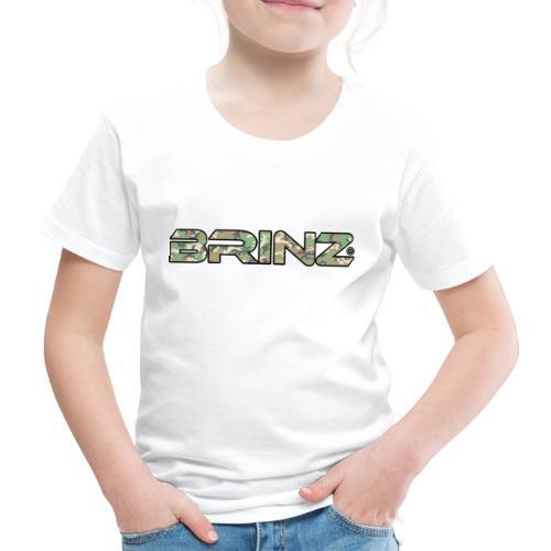 BRINZ Militare - Maglietta Premium per bambini