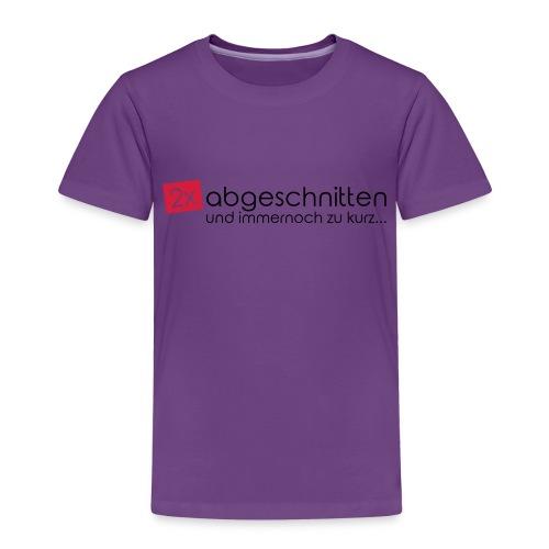 2x abgeschnitten... - Kinder Premium T-Shirt