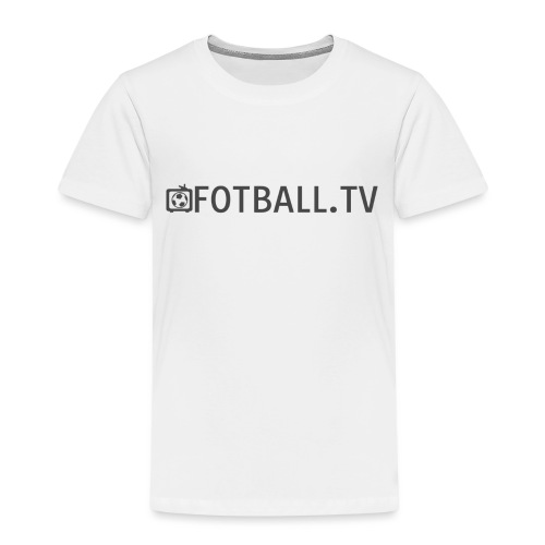 Fotballtv logo - Premium T-skjorte for barn