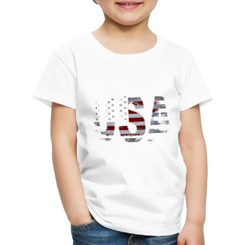 USA - T-shirt Premium Enfant