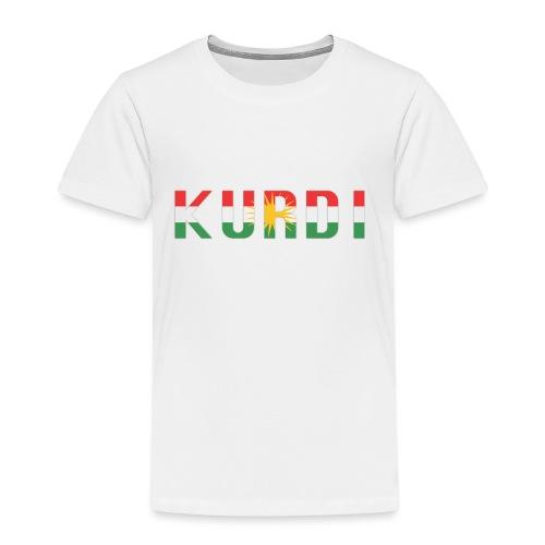 KURDI LOGO - Kinder Premium T-Shirt