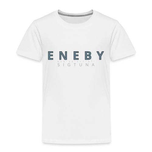 Eneby Sigtuna logo - Premium-T-shirt barn