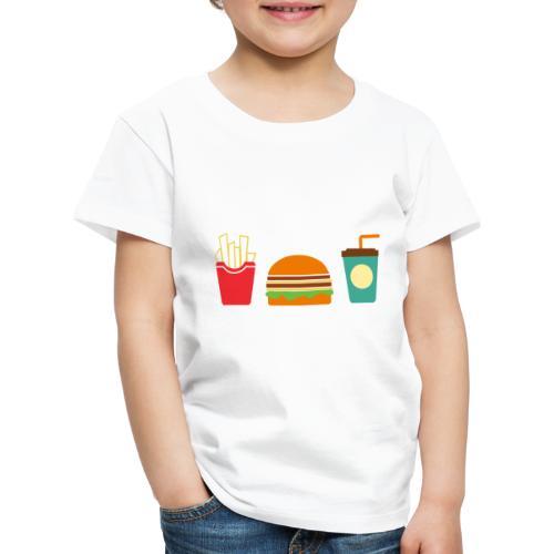 Fast Food - Maglietta Premium per bambini