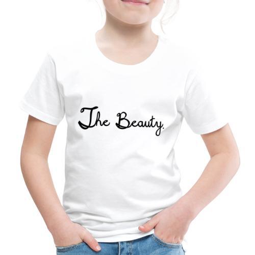 The Beauty Schwarz - Kinder Premium T-Shirt